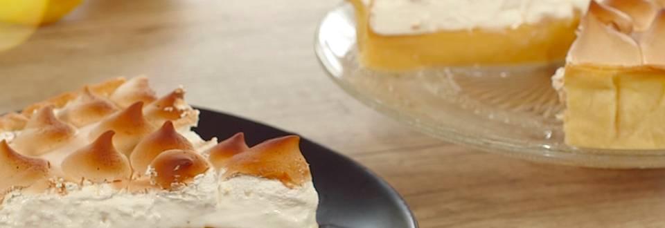 Cómo hacer tarta de limón y merengue