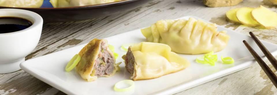 Cómo hacer dumplings con jengibre