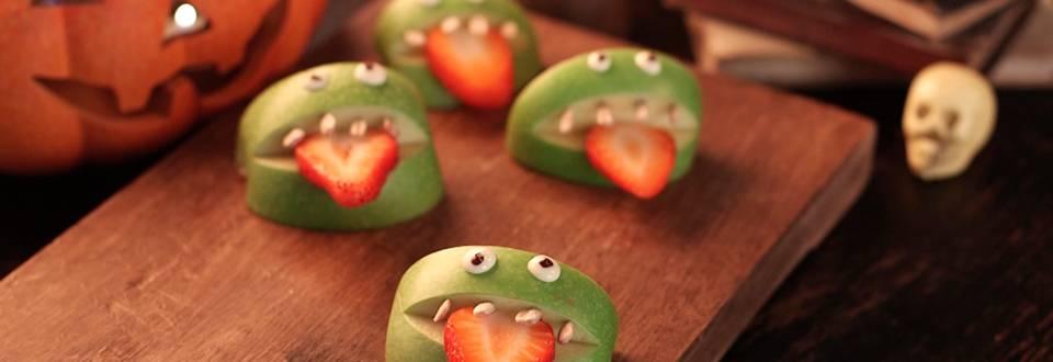 Cómo hacer monstruitos de fruta