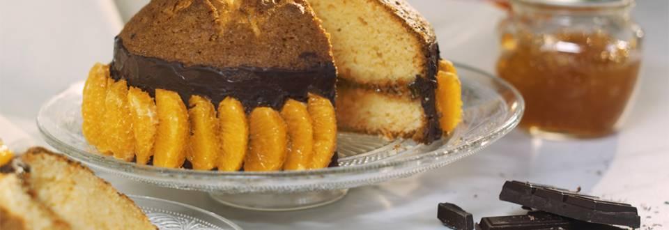 Cómo hacer tarta de mandarina