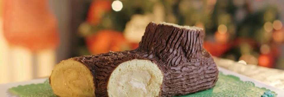 Cómo hacer tronco de Navidad