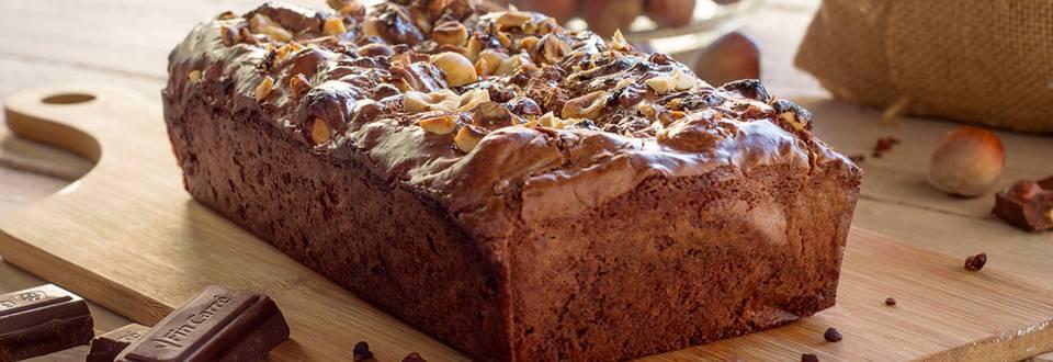 Cómo hacer brownie de chocolate con avellanas