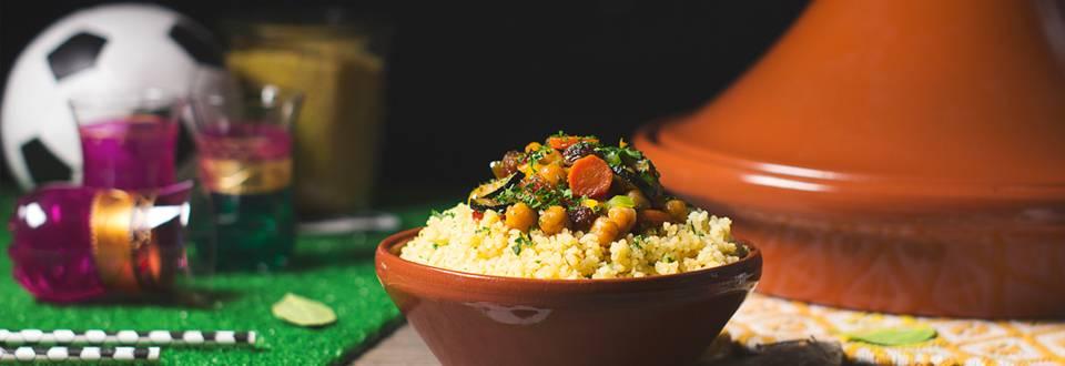Cómo hacer bulgur marroquí con verduras