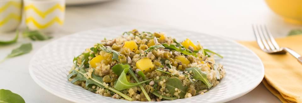 Cómo hacer ensalada de quinoa