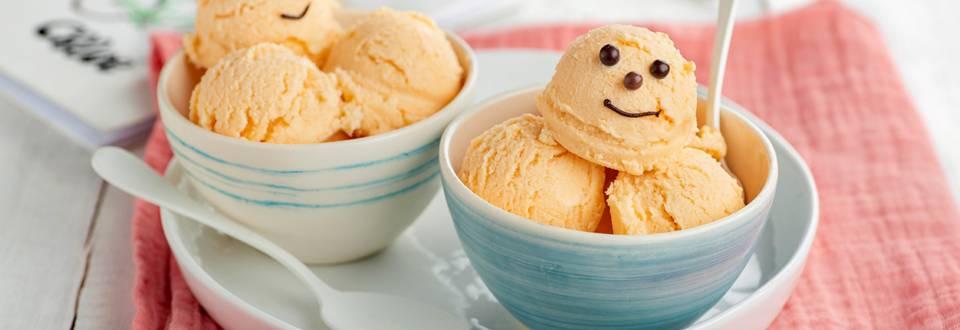 Cómo hacer helado casero de fruta y yogur