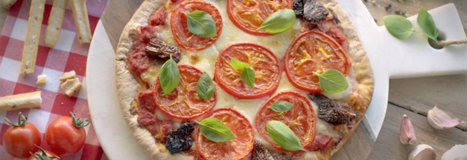 Cómo hacer pizza margarita