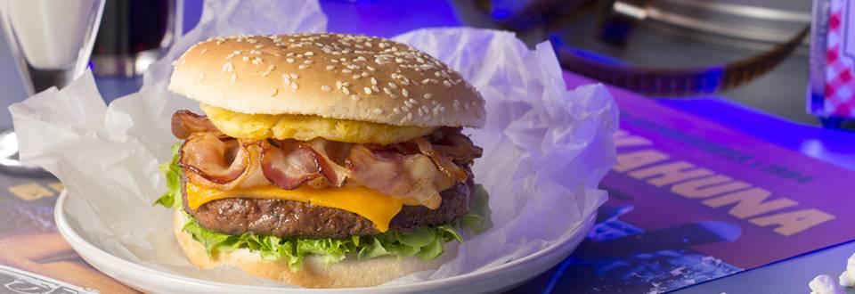 Cómo hacer hamburguesa Gran Kahuna de Pulp Fiction
