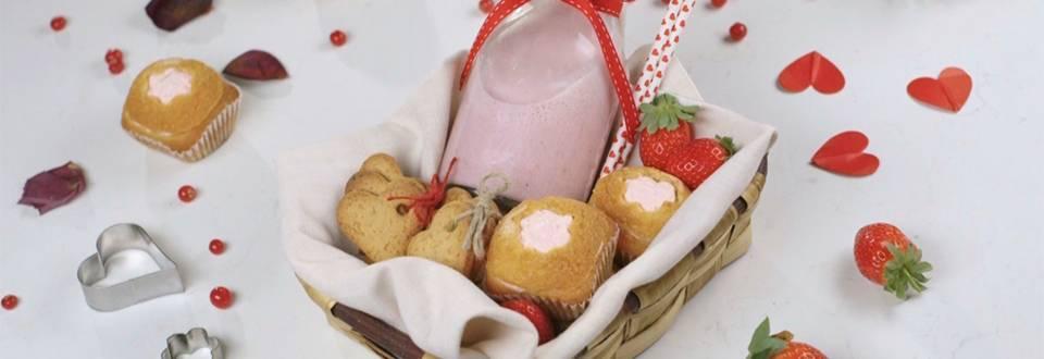 Cómo hacer cesta de San Valentín