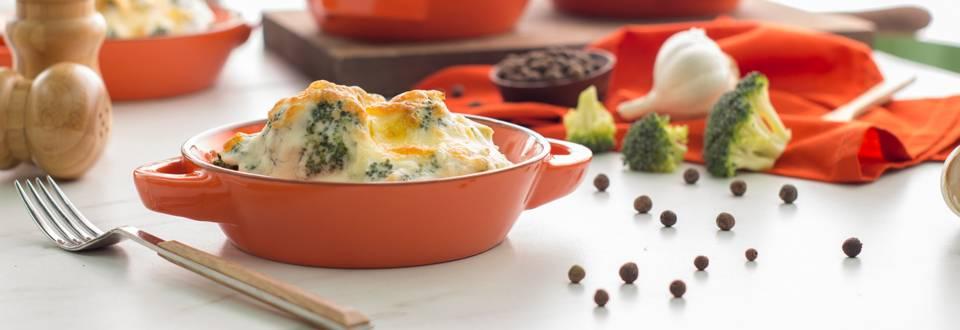 Cómo hacer brócoli gratinado