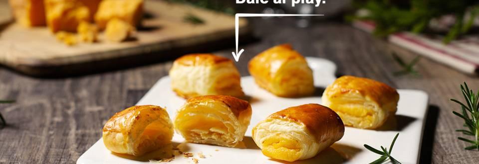 Cómo hacer hojaldres de crema de limón y queso