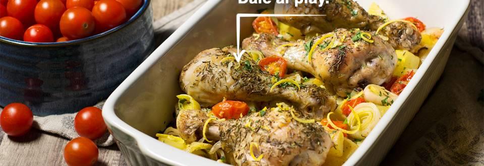 Cómo hacer jamoncitos de pollo al horno