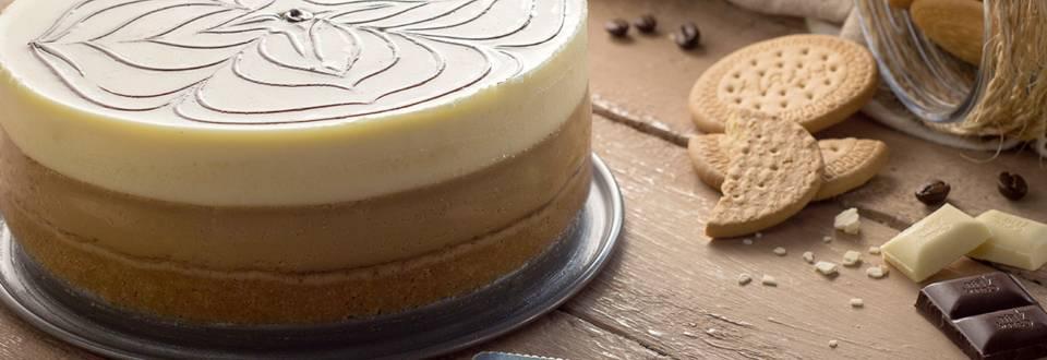 Cómo hacer tarta de café y chocolate blanco