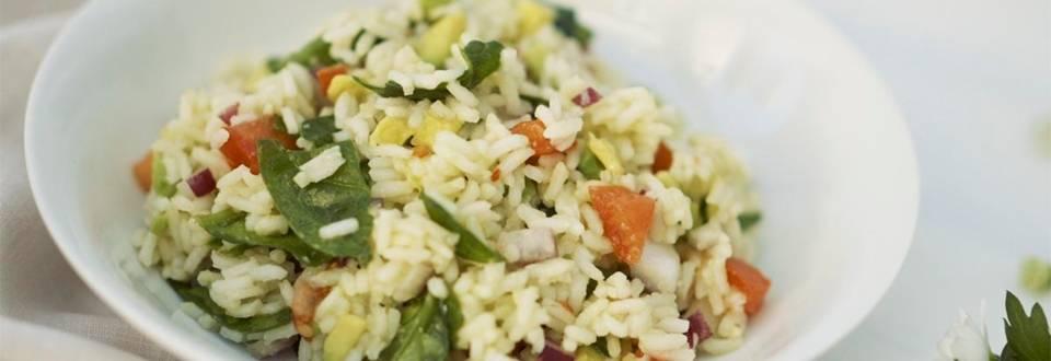 Cómo hacer ensalada de arroz