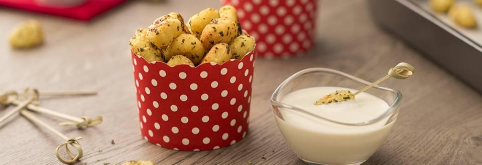 Cómo hacer gnocchis al horno con salsa de queso