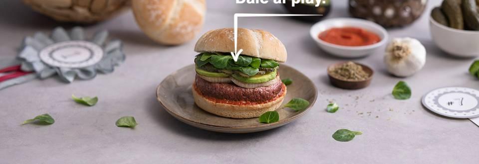 Cómo hacer burger vegana