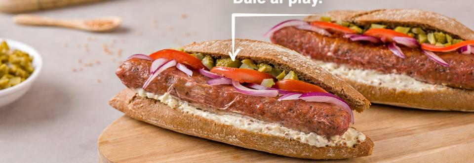Cómo hacer bratwurst vegano con salsa de mostaza