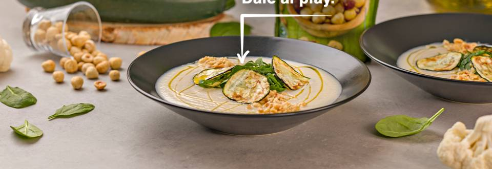 Cómo hacer crema de coliflor