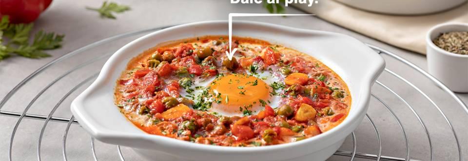 Cómo hacer huevos al plato