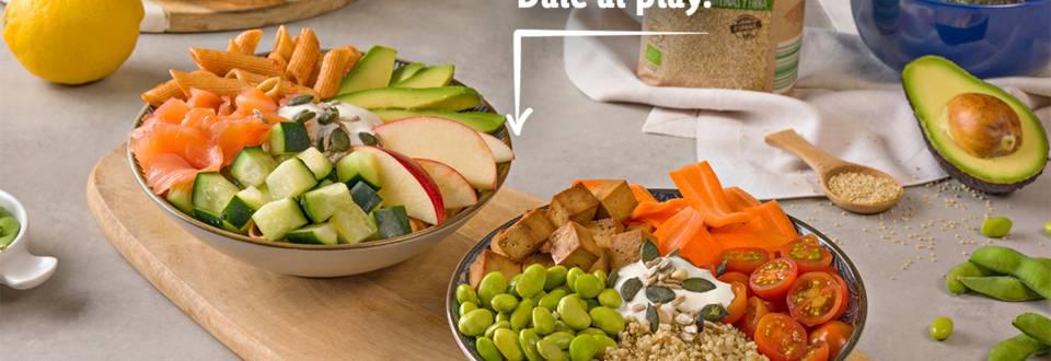 Cómo hacer dos bowls con productos bio