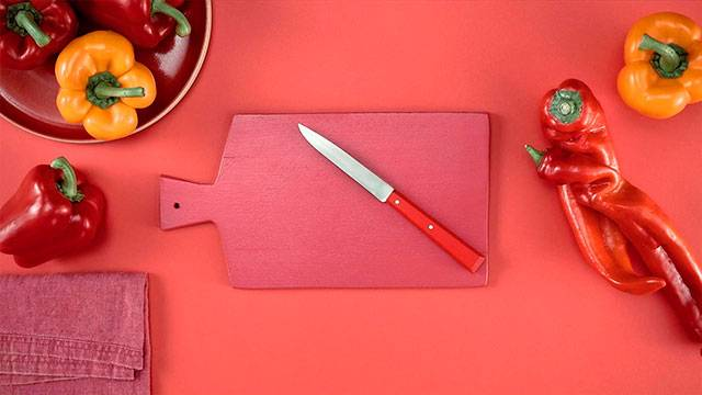 Cómo cortar pimientos