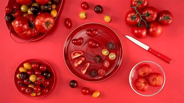 Cómo cortar tomates