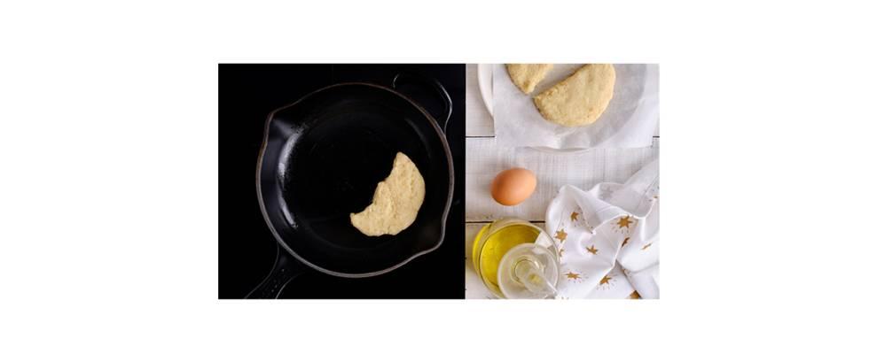 Paso 2 - Cocinar las tortitas de puré de patata